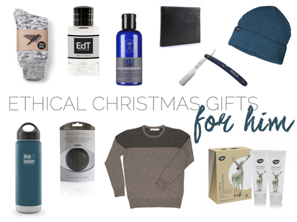 Men S Ethical Christmas Gift Guide Curiously Conscious