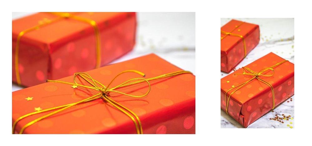 5a jak zapakować prezenty świąteczne w papier  pomysły na pakowanie prezentów jak zapakować pudełko w papier złote czerwone prezenty sposoby na pakowanie prezentów poradnik tutorial jak pakować