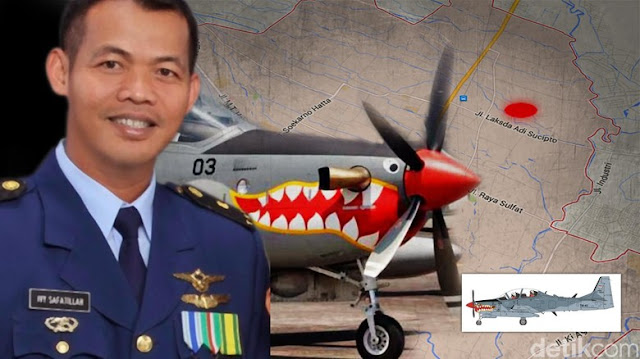 Pilot Super Tucano Mayor Pnb Ivy Meninggal