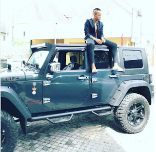 Tekno Acquires New Wrangler Jeep Valued at about N15 million