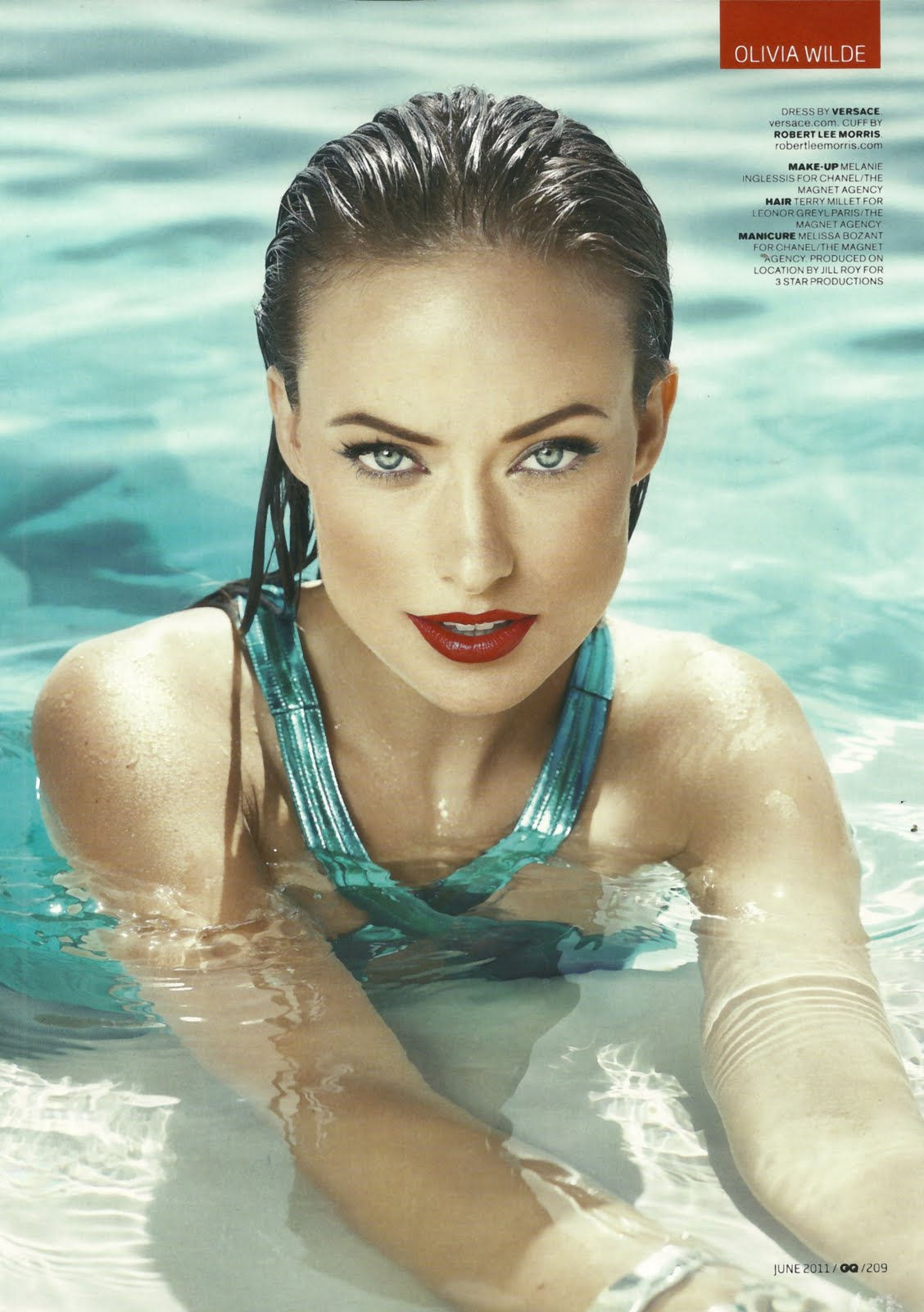 pictures Olivia Wilde Naked In GQ Magazine
