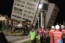"""A magnitude-6.4 quake struck Taiwan Tuesday night causing some buildings to cave in and many others standing crooked. The shallow and powerful earthquake has reportedly claimed two lives with over 170 people unaccounted for. It struck near Taiwan's eastern coast, hitting Hualien county more.    Firefighters and rescuers could be seen climbing ladders hoisted against windows as they sought to reach residents inside apartments.    Over 219 people are injured of which about two dozen of them are in critical condition in Hualien county - The National Fire Agency confirmed.    The agency said most of the 170 people who could not be reached for rescue at the moment might be in the Yunmen Cuiti building - a 12-story apartment building.        A hotel employee died when the ground floor caved in at the Marshal Hotel, and another person died in a residential building.    A maintenance worker who was rescued after being trapped in the hotel's basement said the force of the earthquake was not usual.  """"At first it wasn't that big ... we get this sort of thing all the time and it's really nothing. But then it got really terrifying,"""" Chen Ming-hui said after he was reunited with his son and grandson. """"It was really scary."""" Many buildings tilted on their foundations due to the magnitude-6.4 quake Tuesday night and rescuers used ropes, ladders and cranes to get residents to safety.  MANCHESTER UNITED RISKS LOSING MARCUS RASHFORD IN SUMMER   United States of America's Geological Survey said the magnitude-6.4 quake hit before midnight Tuesday about 23 kilometers (14 miles) northeast of Hualien at a shallow depth of about 10.6 kilometers (6.6 miles).        Taiwan has frequent earthquakes due to its position along the """"Ring of Fire,"""" the seismic faults encircling the Pacific Ocean where most of the world's earthquakes occur.    DSCUS"""