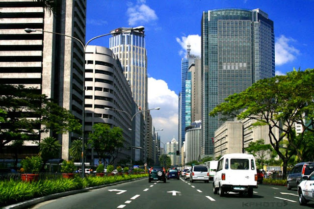Ayala Avenue in Makati City.