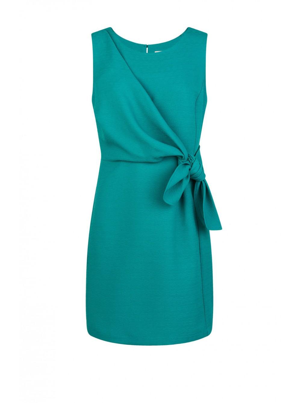 Robe invitee mariage turquoise