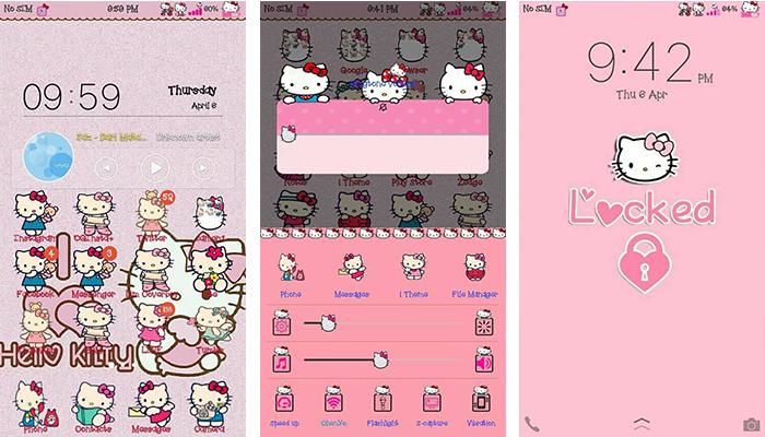 Hello Kitty V2 Theme For Vivo Android Smartphones