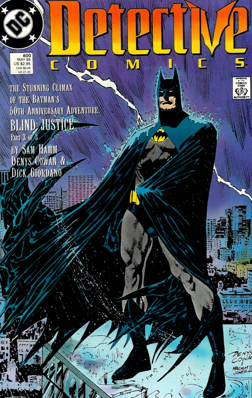 Detective Comics (1937) 600 Page 0