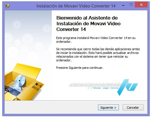 Movavi Video Converter Version 14.3.0 Español