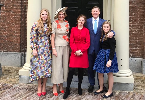 Dutch Royal Family Attended King S Day 2019 In Amersfoort