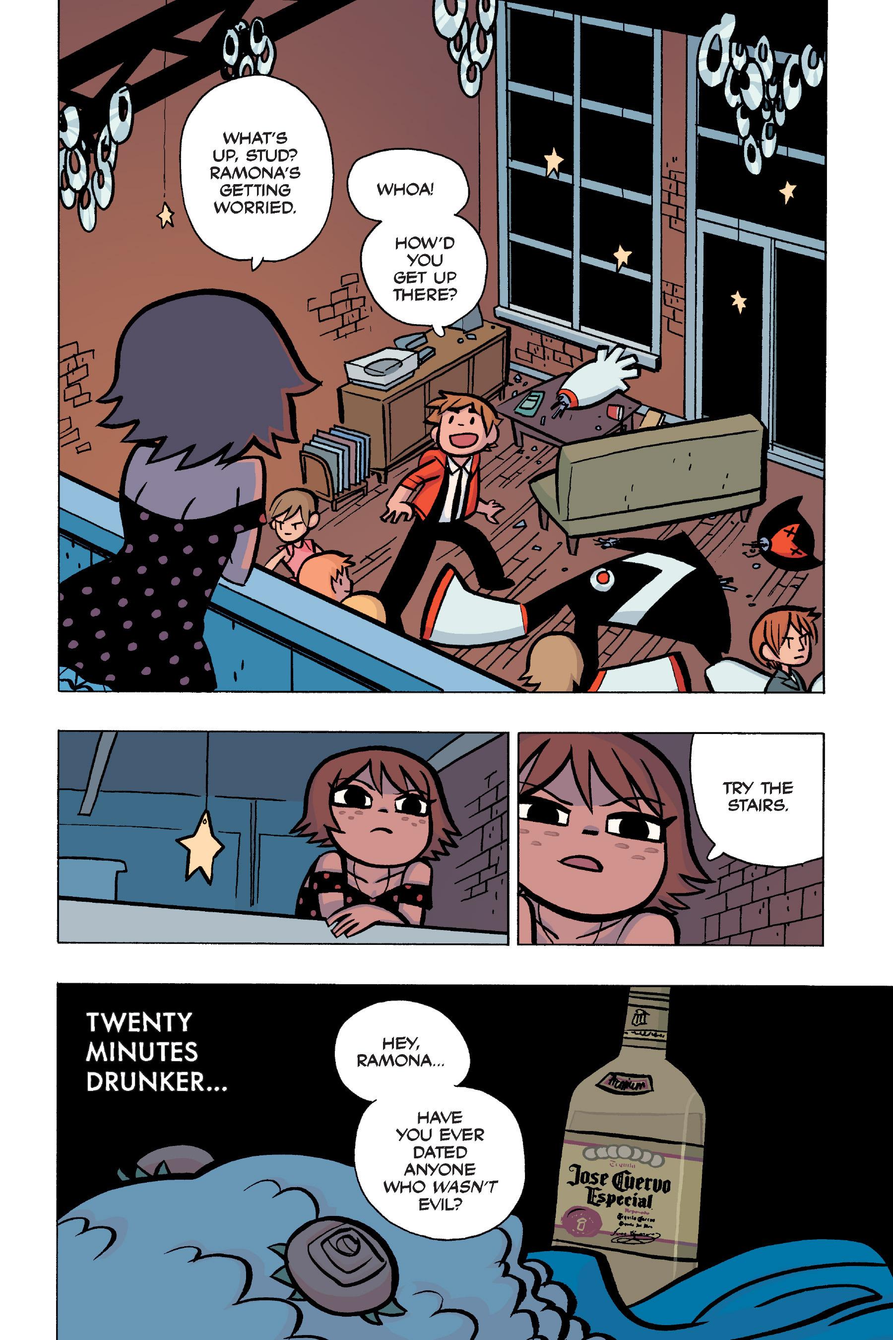 Read online Scott Pilgrim comic -  Issue #5 - 94
