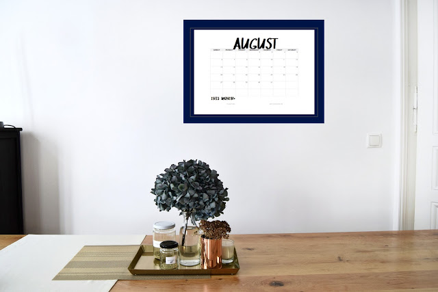 Free July Command Center Printables
