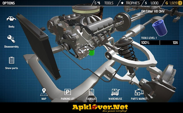 Car Mechanic Simulator 18 APK MOD unlimited money