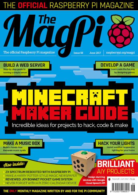 58ª edição da revista The MagPi
