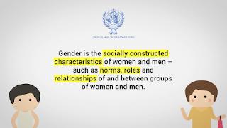 Definisi Gender menurut WHO yang sebenarnya berbeda dengan sex