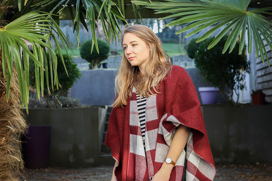 Look moitié poncho