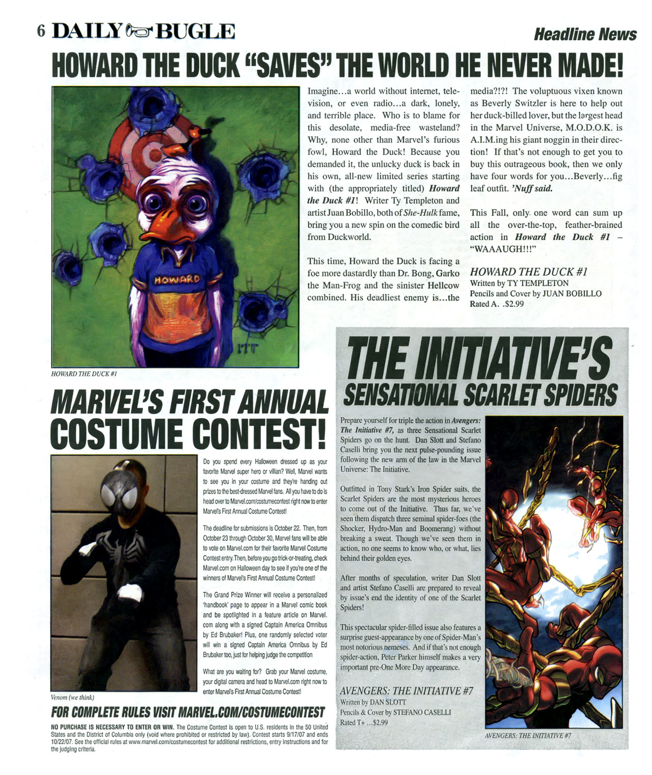 Read online Daily Bugle (2006) comic -  Issue #13 - 6