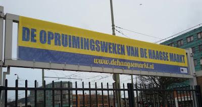 Haagse markt ruimt op