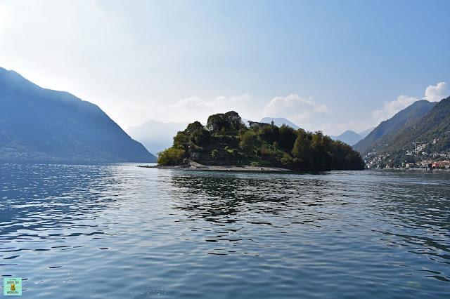 Isola Comacina en Lago di Como