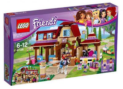 TOYS : JUGUETES - LEGO Friends  41126 Club de Equitación de Heartlake  Heartlake Riding Club Producto Oficial 2016 | Piezas: 575 | Edad: 6-12 años Comprar en Amazon España & buy Amazon USA
