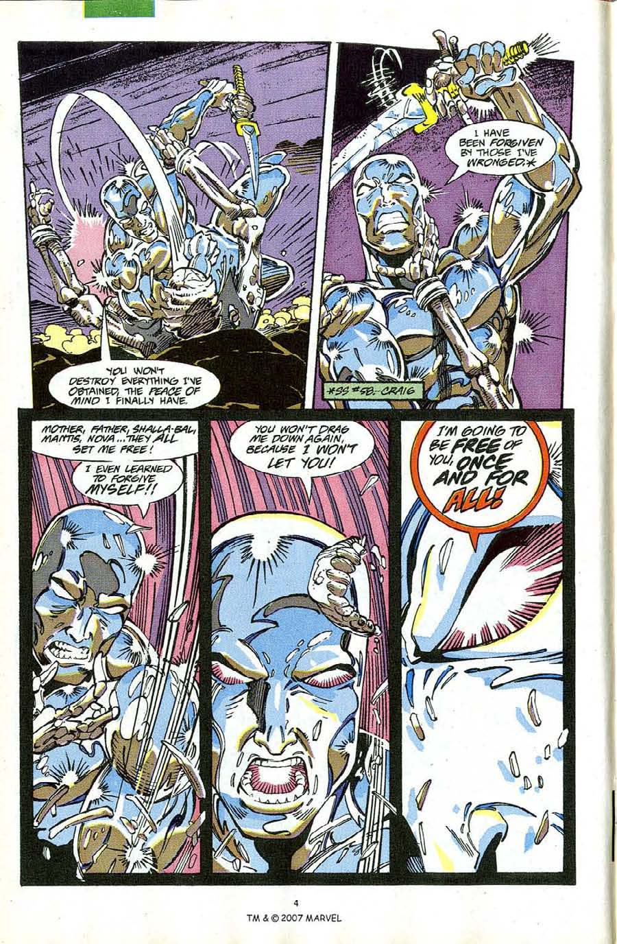 Read online Silver Surfer (1987) comic -  Issue #63 - 6