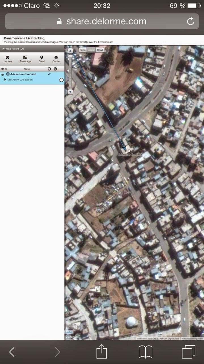 2015 in Puno auto aufgebrochen, iPad, Kamera und anderes gestohlen
