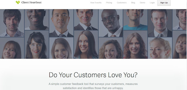client heartbeat online customer feedback tool