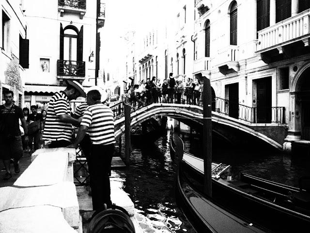 Gondoly, Venezia - Benátky