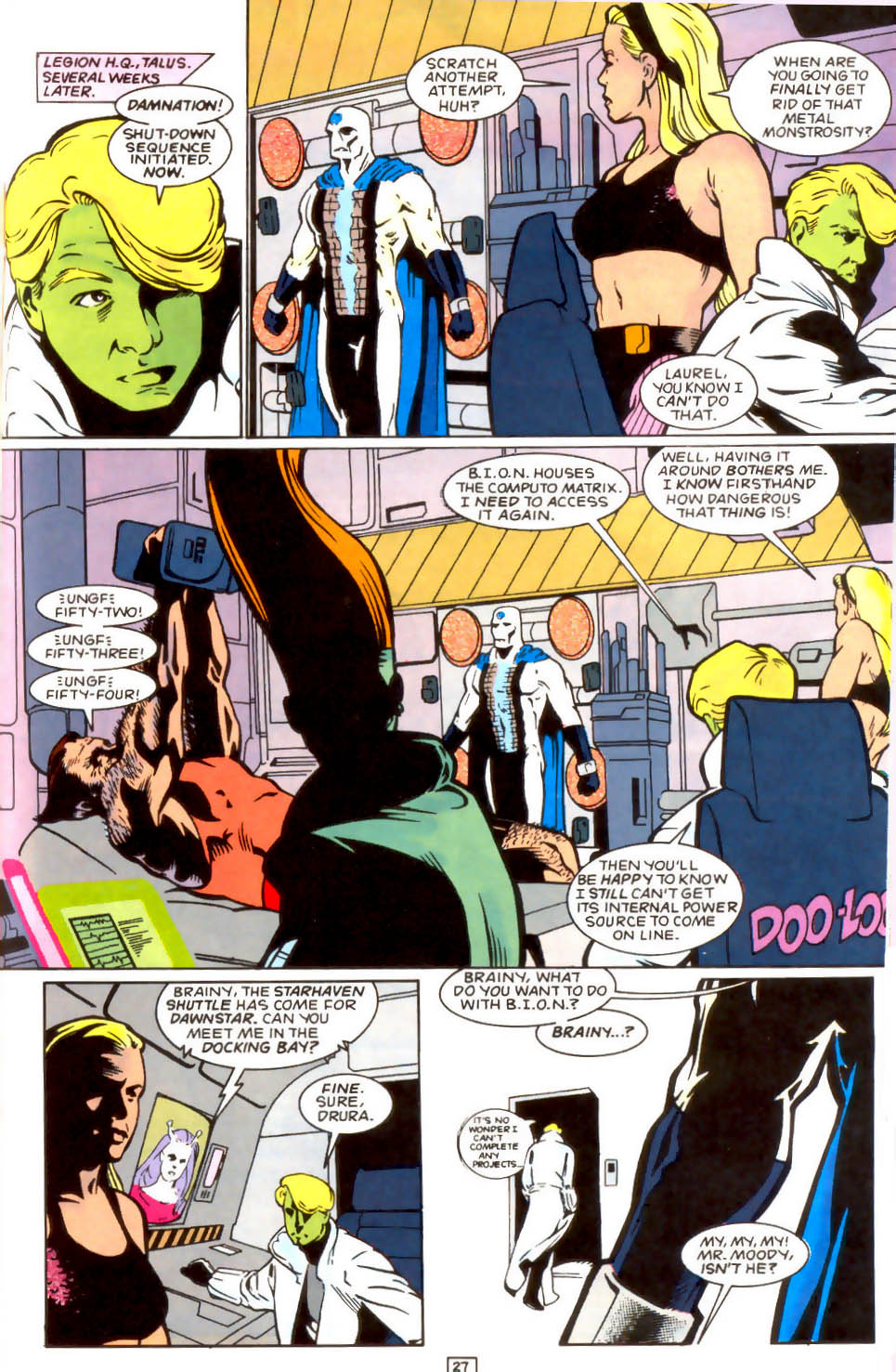Legion of Super-Heroes (1989) 50 Page 27