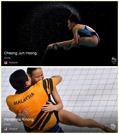 KEPUTUSAN DAN JADUAL ATLIT MALAYSIA DI SUKAN OLYMPIK RIO 2016