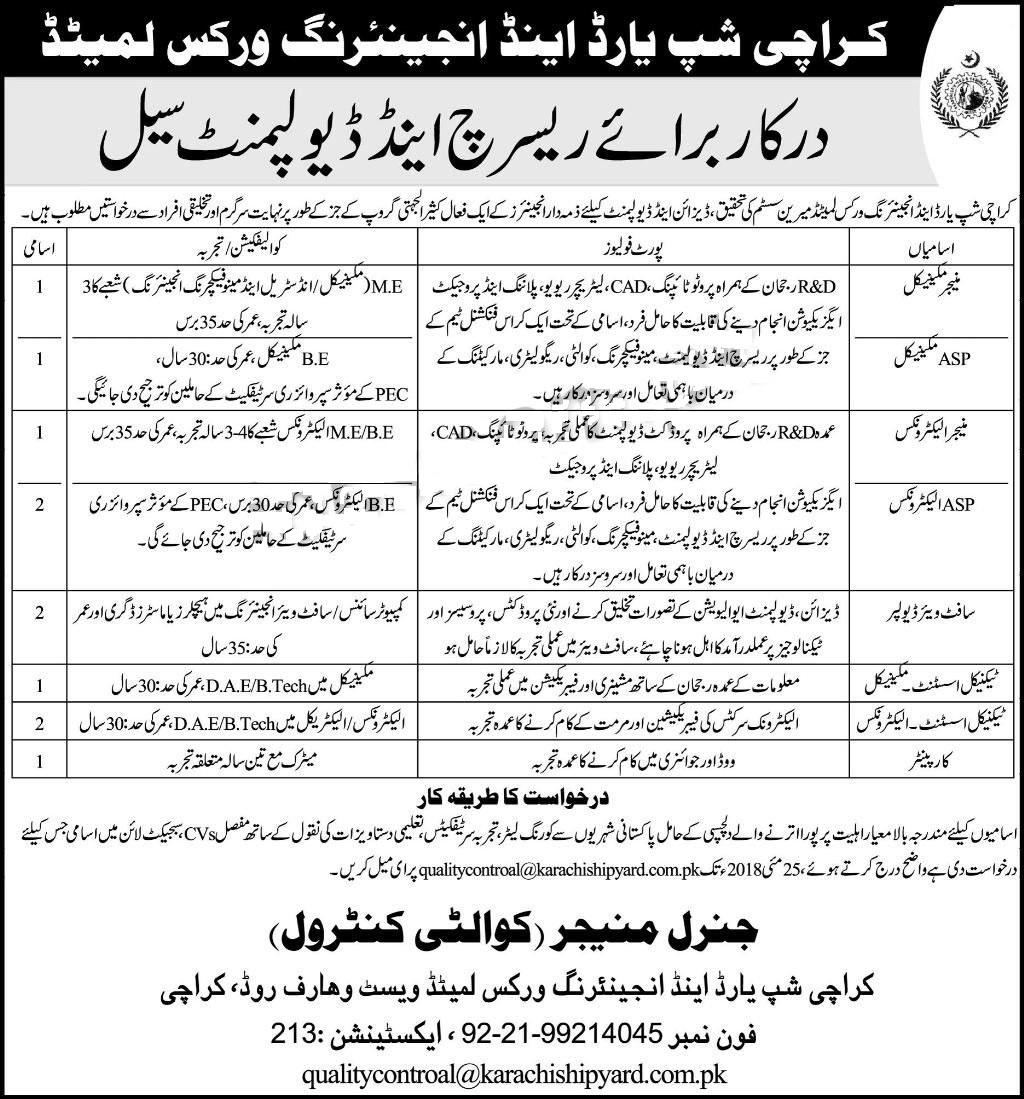 jobs in karachi