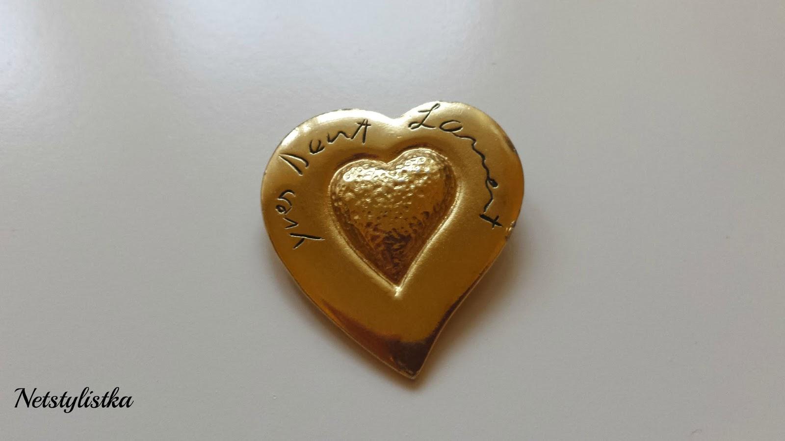 YSL vintage broszka Yves Saint Laurent stara biżuteria od projektantów blog