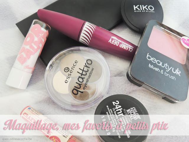 le meilleur du maquillage à petits prix