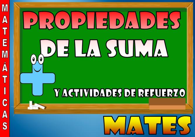 Propiedades de la suma y ejercicios de refuerzo [Matemáticas ...