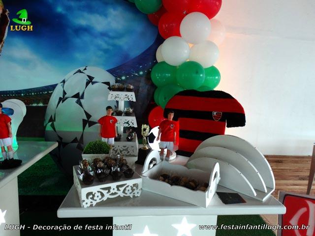 Decoração temática infantil Fluminense - Festa de aniversário