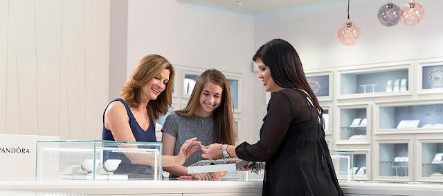Lojas para comprar pulseiras Pandora na Califórnia
