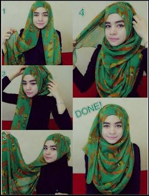 model jilbab pashmina