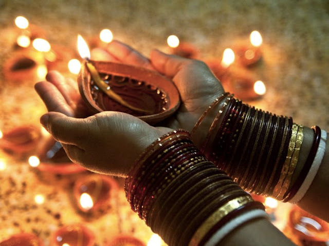 Send diwali images with wife
