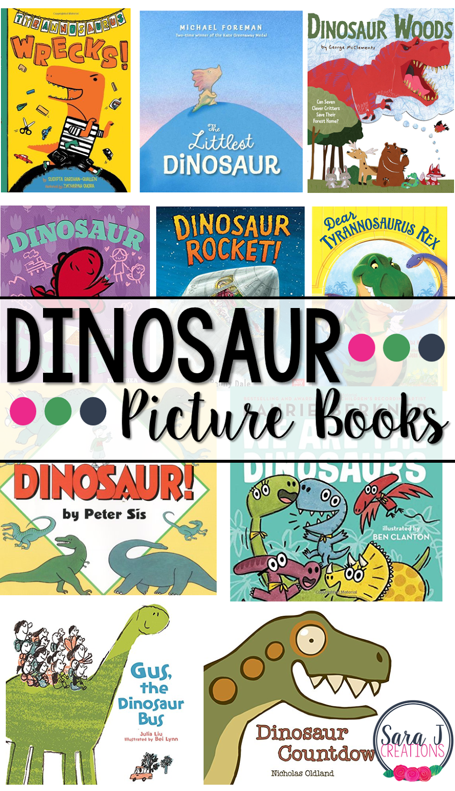 10 Dinosaur books your kids will love. Have you read these picture books?