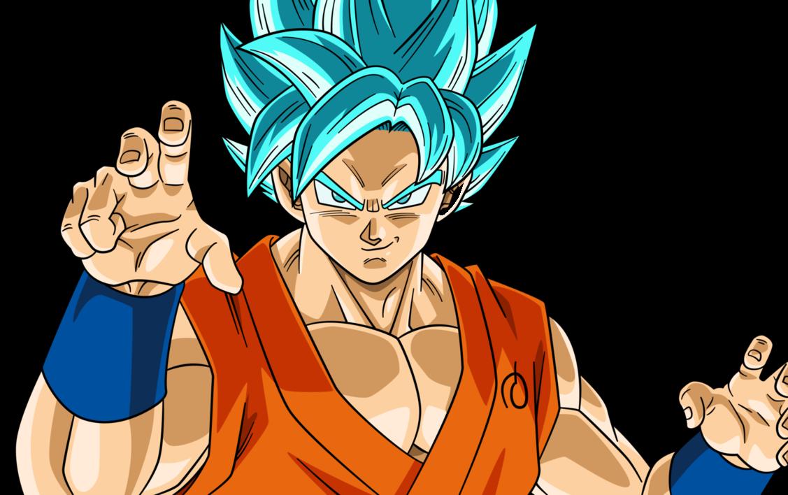 Super Saiyan Blue   Trạng Thái Thần Trong Dragon Ball Super