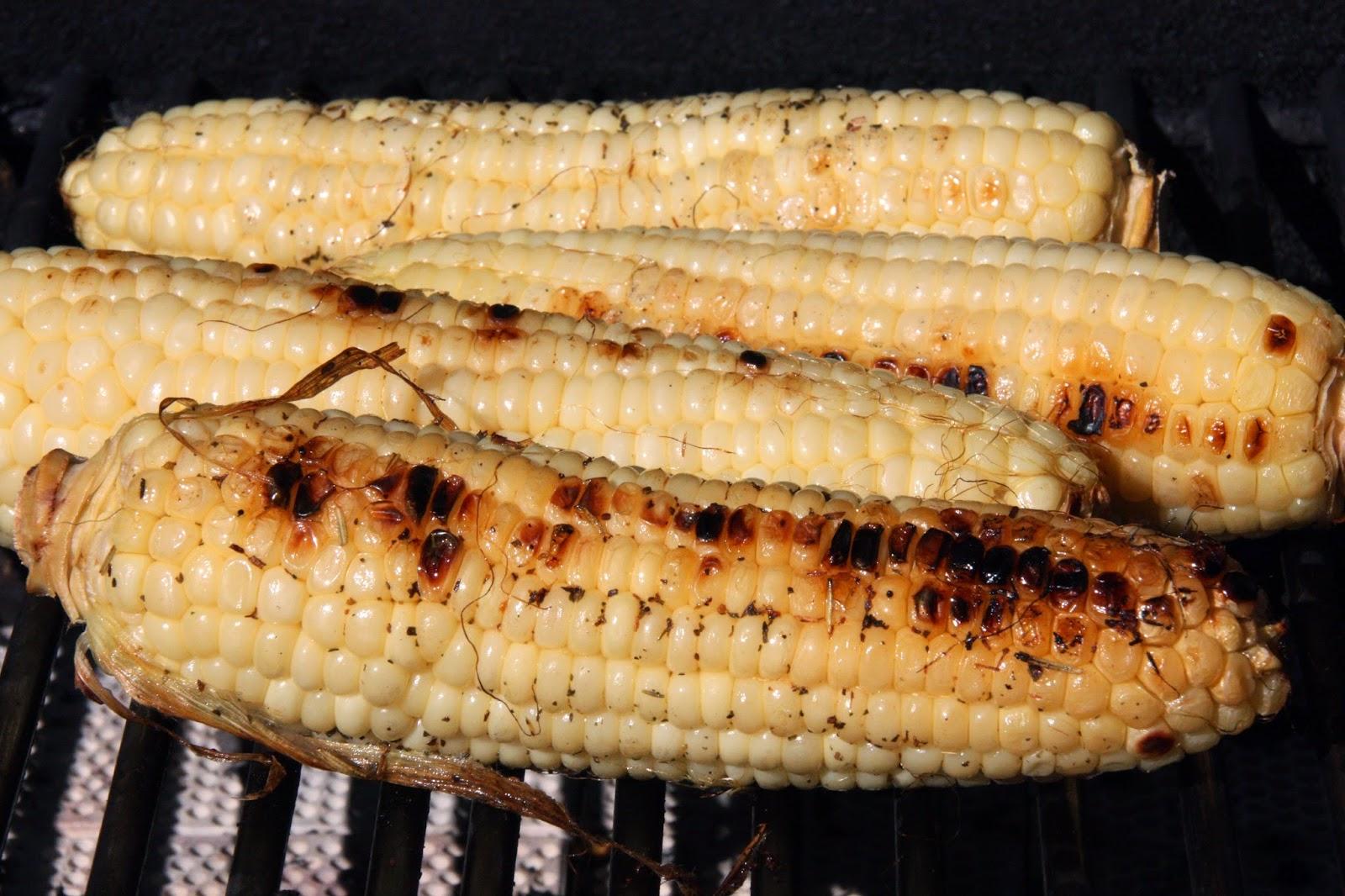 BBQ sweet corn