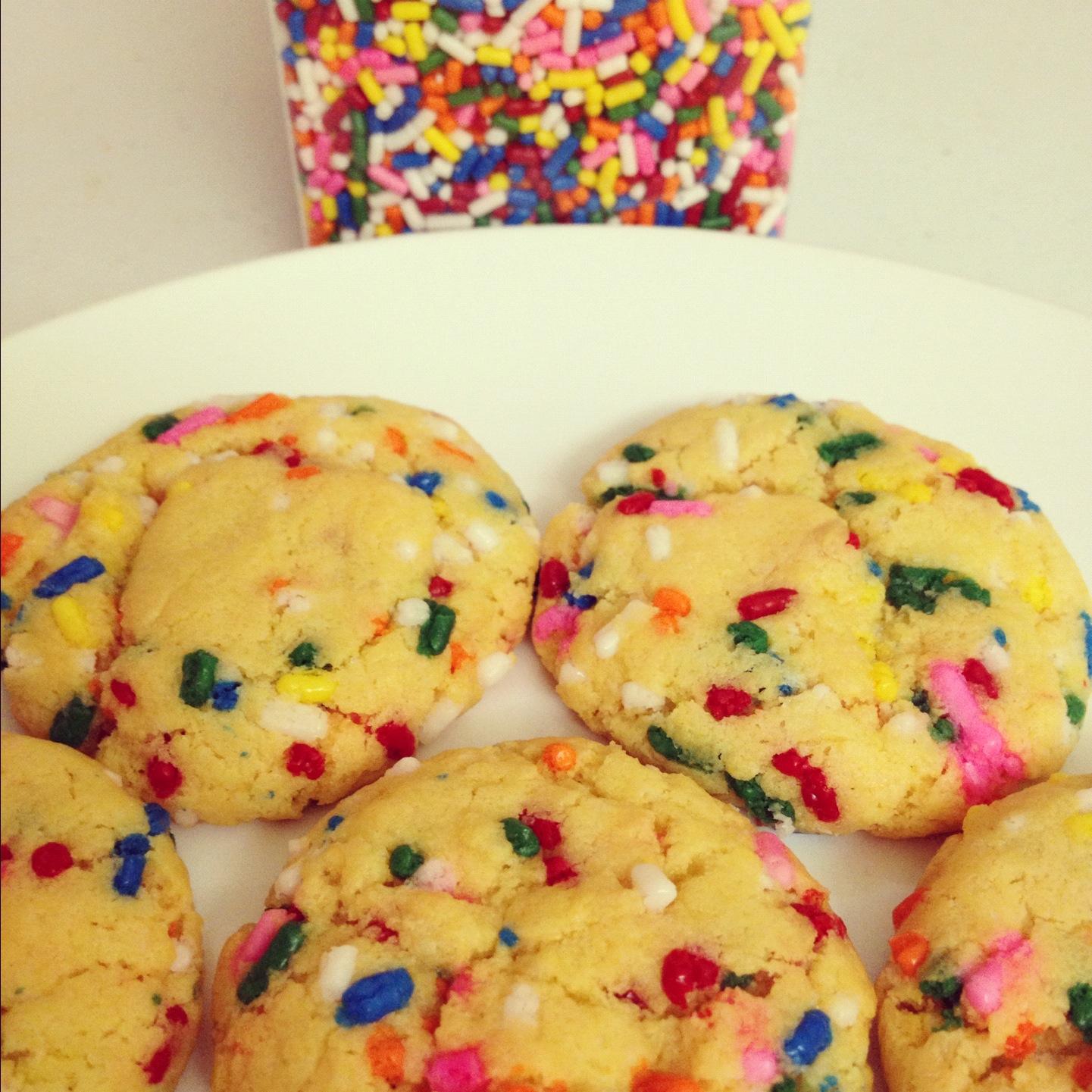 Cake Batter Froyo Recipe