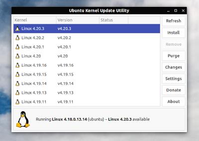 Ukuu Ubuntu Kernel Update Utility