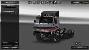 Truck – Kamaz 4410-6450 for 1,27 patch