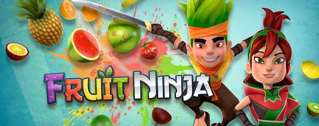 تحميل لعبة نينجا تقطيع الفاكهة fruit ninja للاندرويد مجانا APK