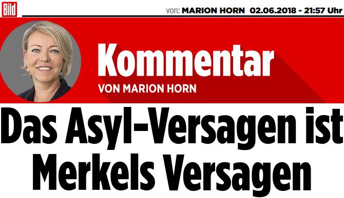 Das Asyl-Versagen ist Merkels Versagen