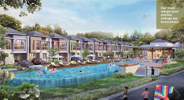 club house cluster tesla summarecon