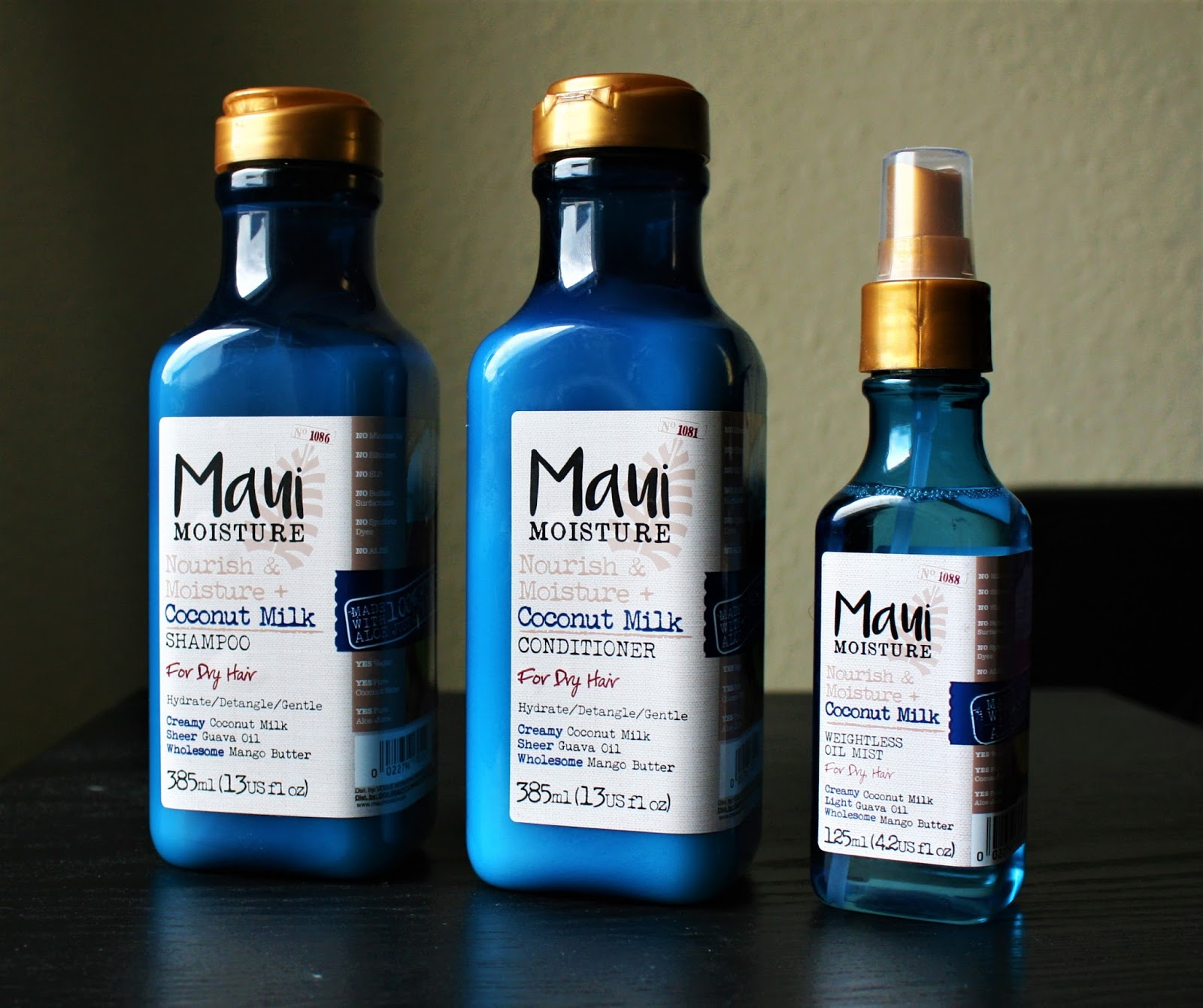 Products: New Maui Moisture Hair Products