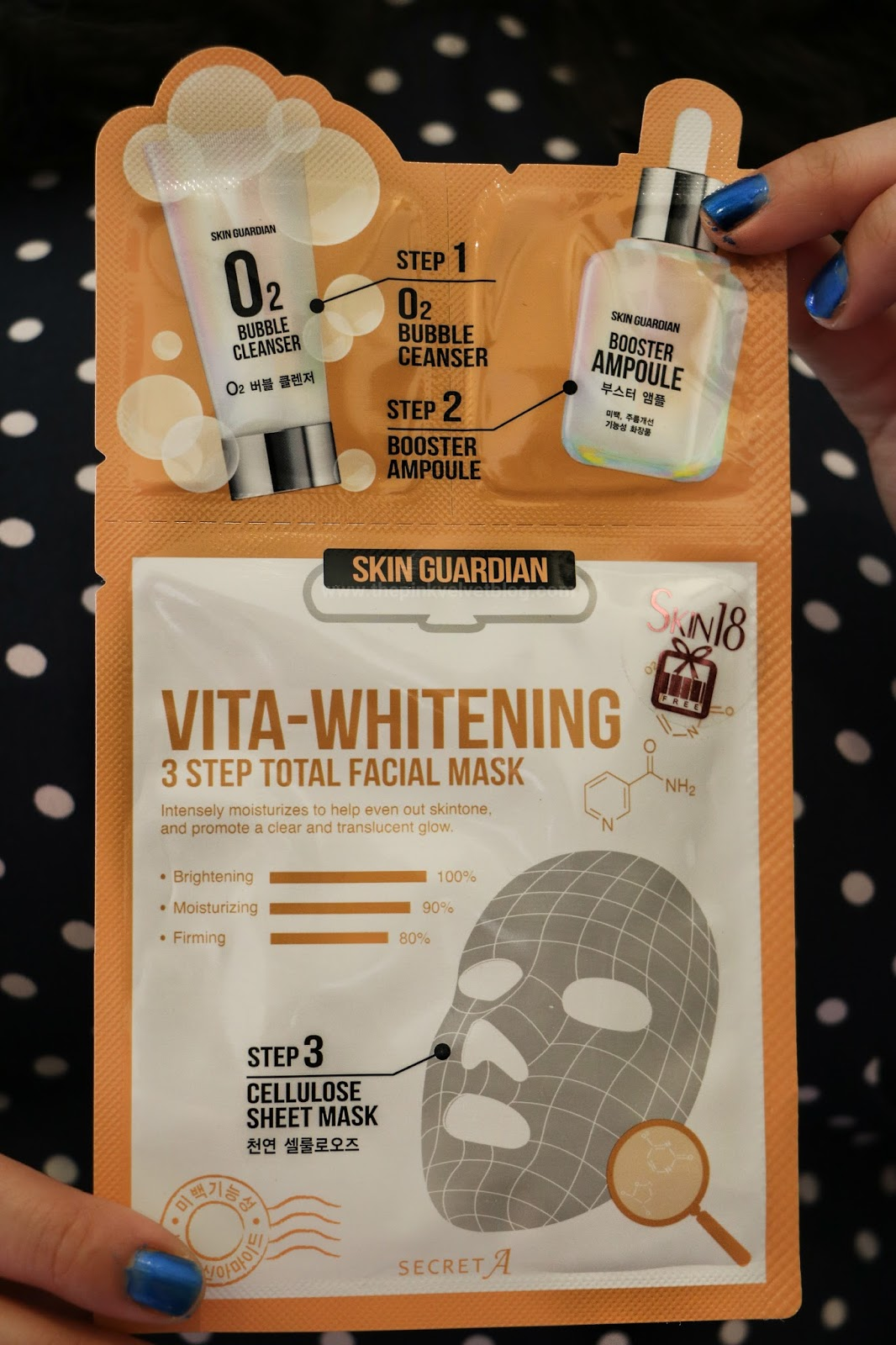 Skin18 Vita-Whitening Sheet Mask