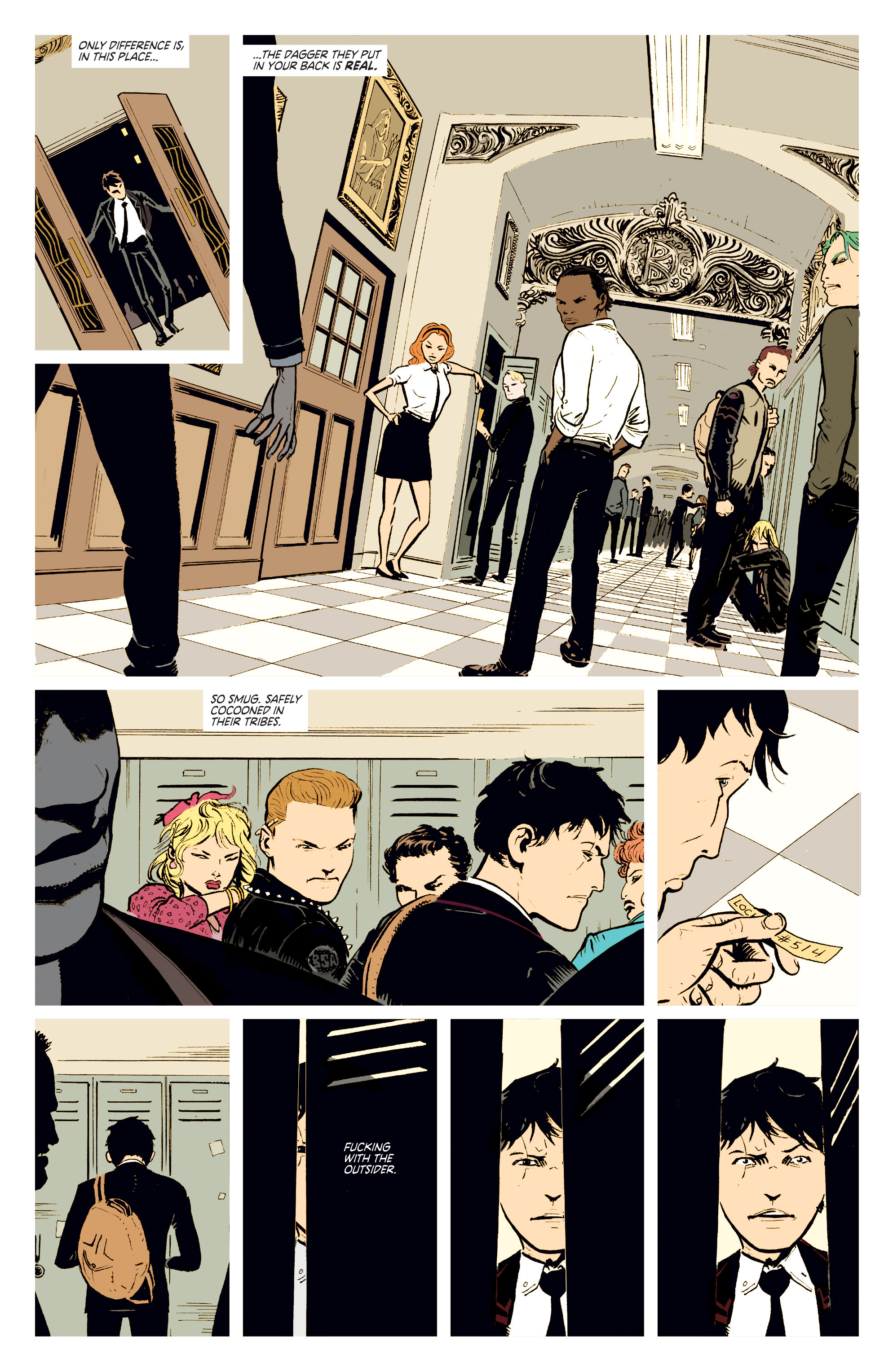 Read online Deadly Class comic -  Issue #2 - 7
