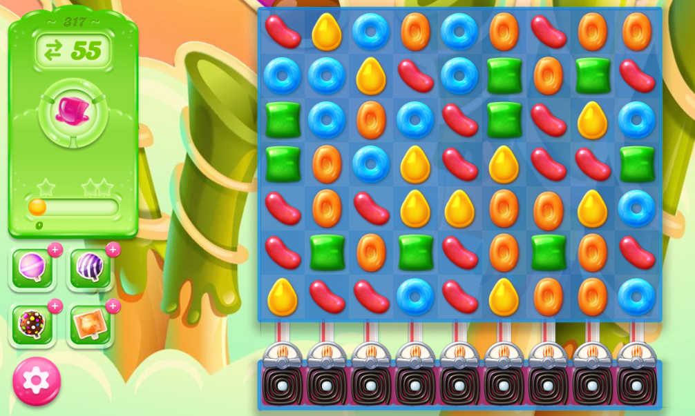 Candy Crush Jelly Saga 317