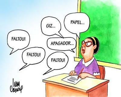 Resultado de imagem para caos na educação